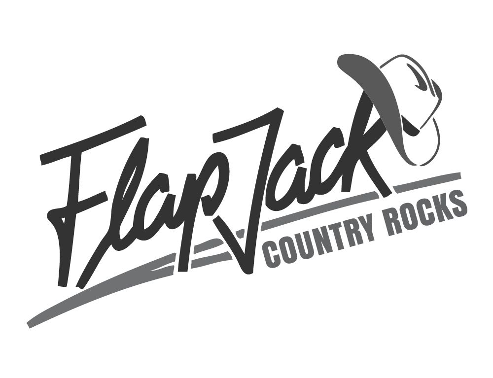 Logo Re-design Flapjack Country rocks, beba it. web. grafik. Landquart