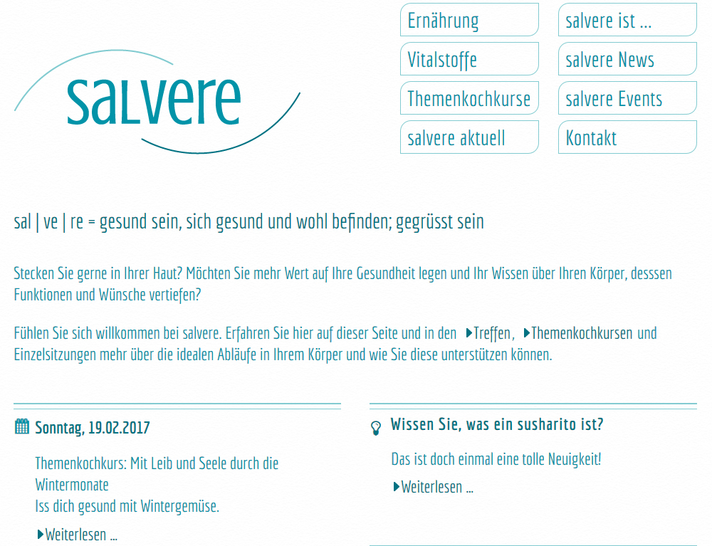 salvere, Malans, beba it. web. grafik. Landquart